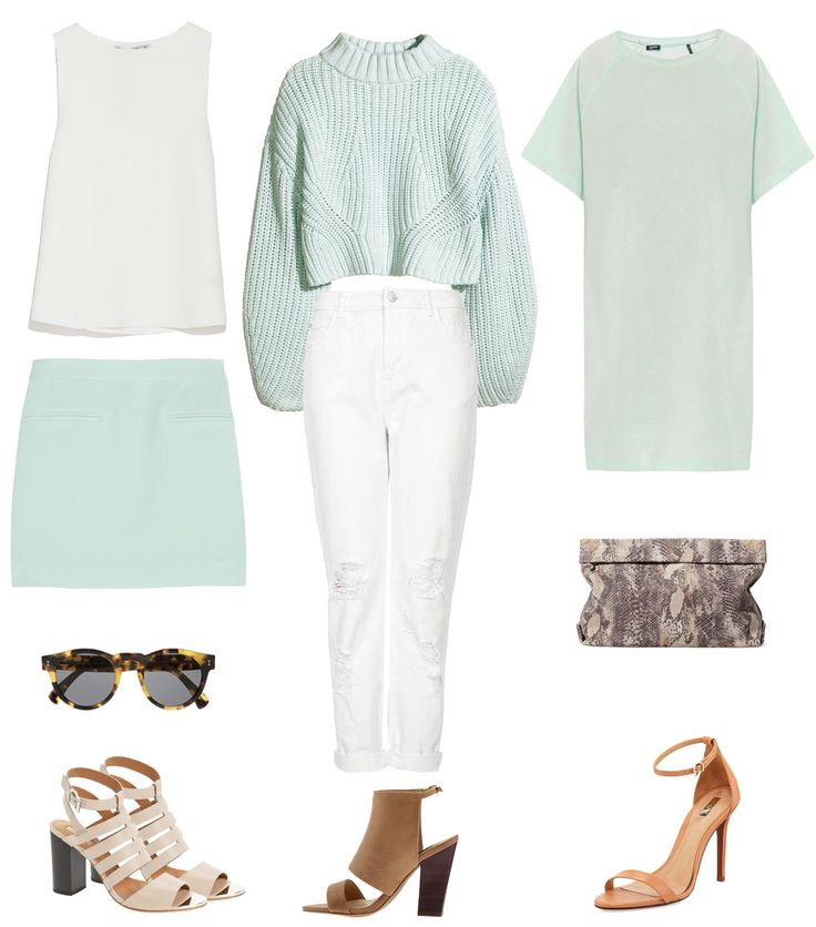 How to wear Spring's pastels
