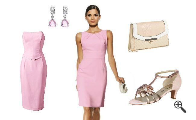 Kleider für die Brautmutter... http://www.fancybeast.de/festliche-kleider-fuer-brautmutter-knielang-outfit-fuer-hochzeit/ #Brautmutter #Kleider #Dress #Hochzeit #Outfit #Cocktailkleider #Rose #Pink Outfit für Hochzeit Festliche Kleider für Brautmutter knielang