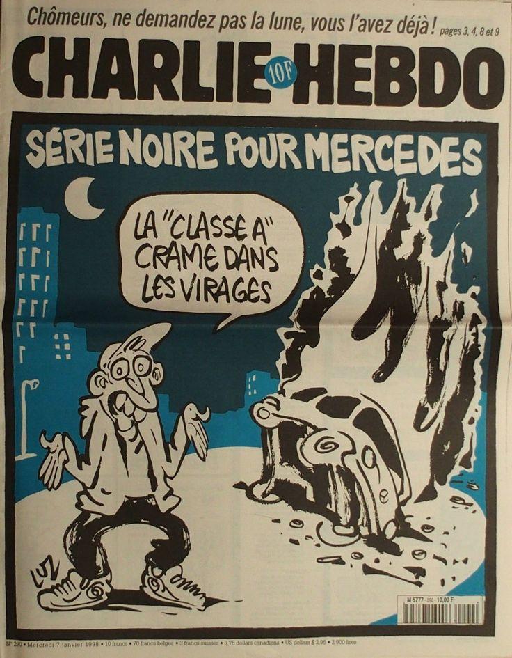 Charlie Hebdo - # 290 - 7 Janvier 1998 - Couverture : Luz