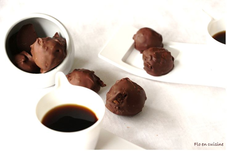 Chocolats comme des rochers