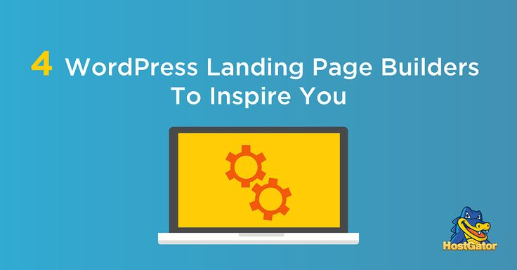 Let these WordPress landing pages inspire you!