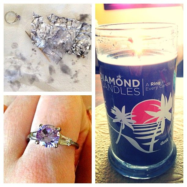 There's a ring in every candle! Thinking about those gift ideas now for the home?
