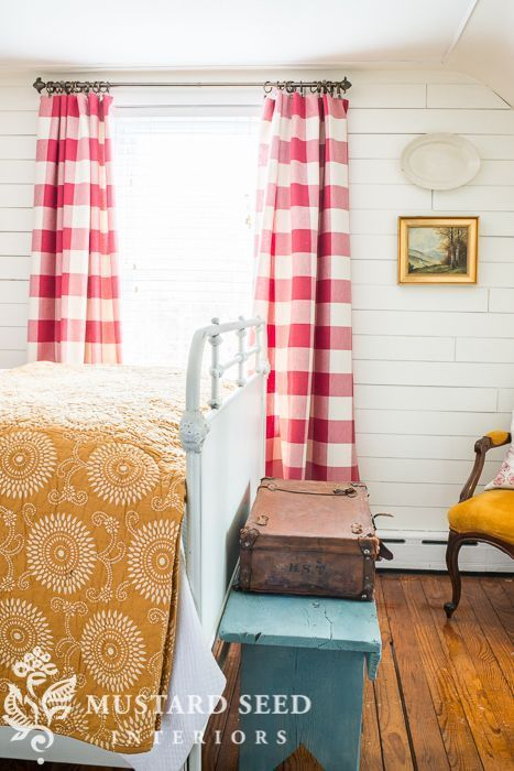 Miss Mustard Seed:Vintage Living: The Buffalo Check