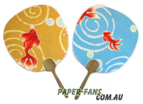 Customize shape paper fans  Our varnished wood promotional hand fans give the visual luster of a varnished finish along with the added durability. These fans feature cloth material that is printed with the design of your choice.   Price: From 1.95AUD  Minimun order: 2000pcs