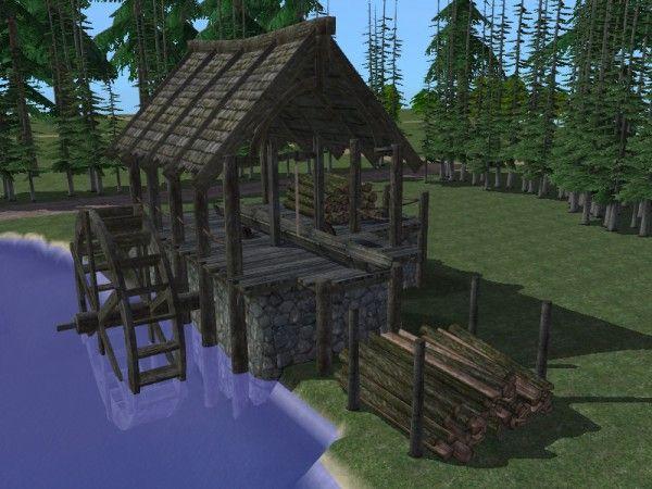 Minecraft Building Tutorials Ep 4 Lumber Mill