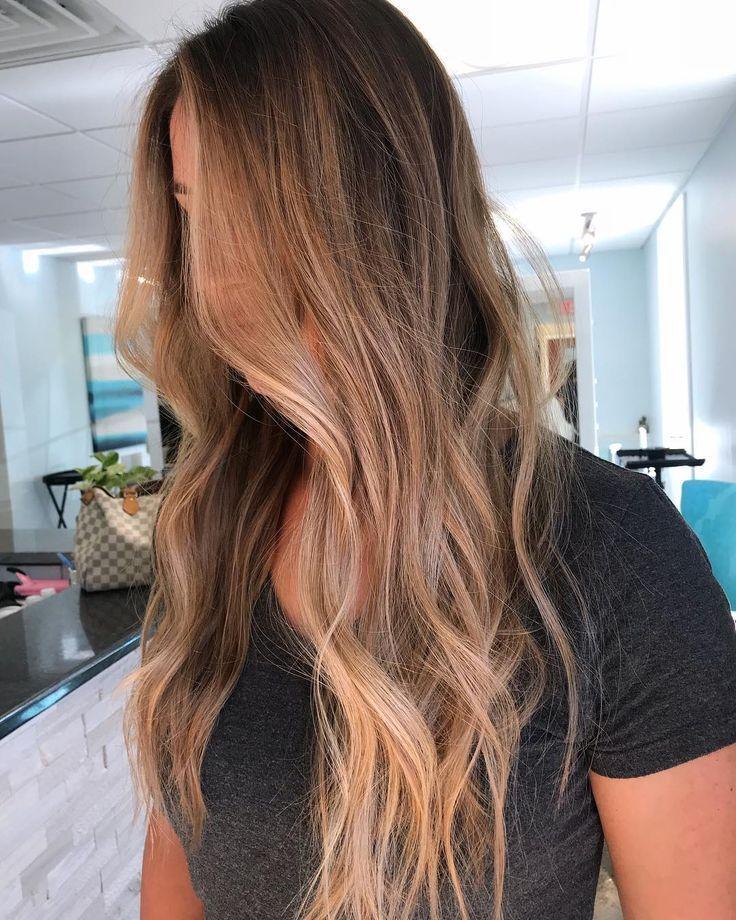 lange Haarmodelle – Wellenförmige Frisuren für die neue Saison Winter And Spring 2019; wellige Frisuren für Frauen –