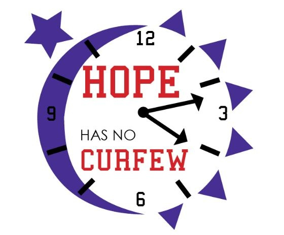 Relay For Life clock: hope has no curfew