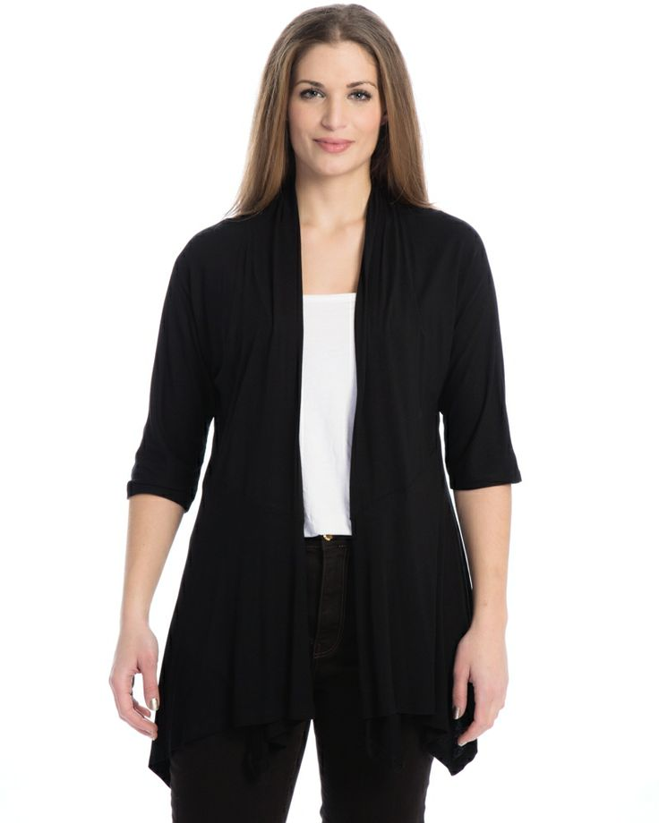 Μονόχρωμο cardigan — mat. XXL sizes