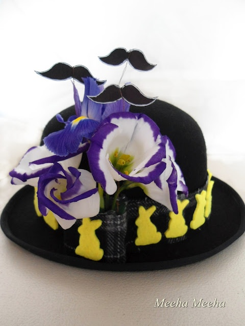 Love this Easter hat.Very different!!