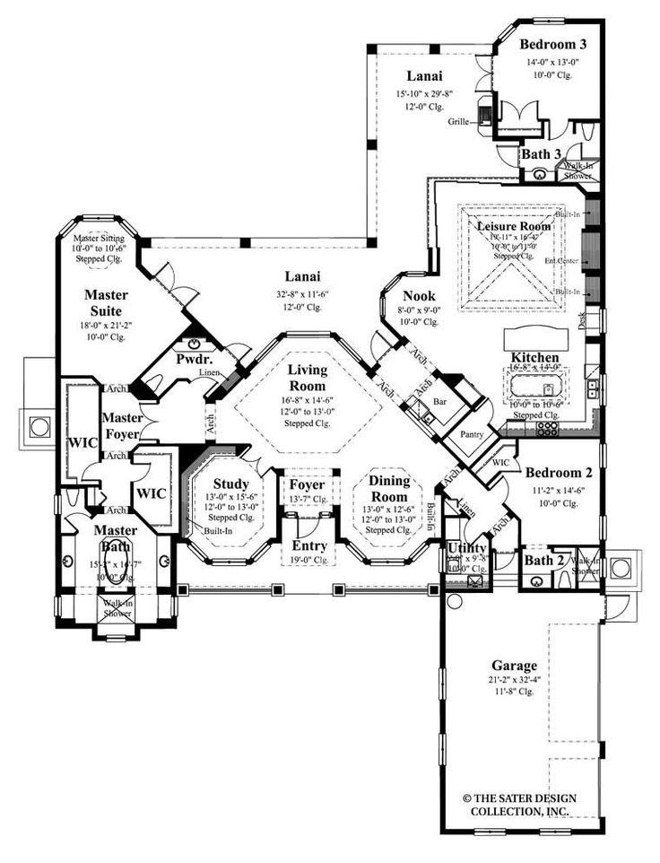 61 Best House Plans Images On Pinterest Floor Plans