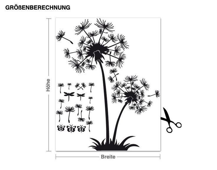 Die besten 17 ideen zu wandtattoo pusteblume auf pinterest for Pusteblume dekoration