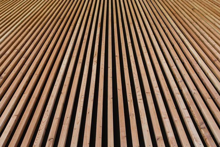Les 25 meilleures id es de la cat gorie panneaux - Pose lambris bois sans tasseaux ...