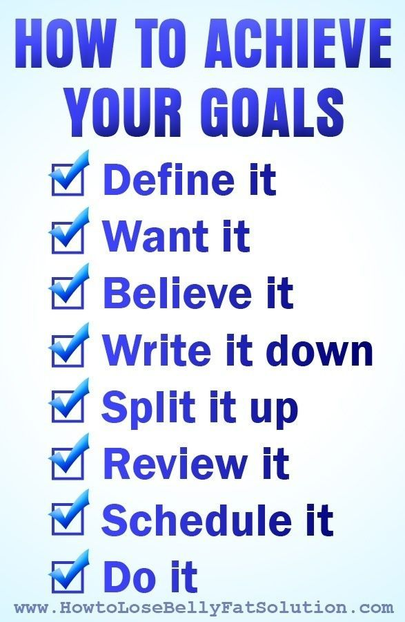 Write Your Vision Statement for Weight Loss