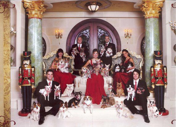 actually this will be what my family photos look like in 10 years! except mine will only have big dogs! :)