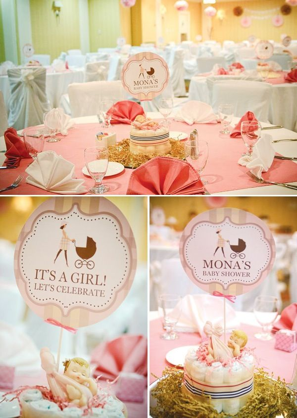 Exceptional Baby Shower Table Settings