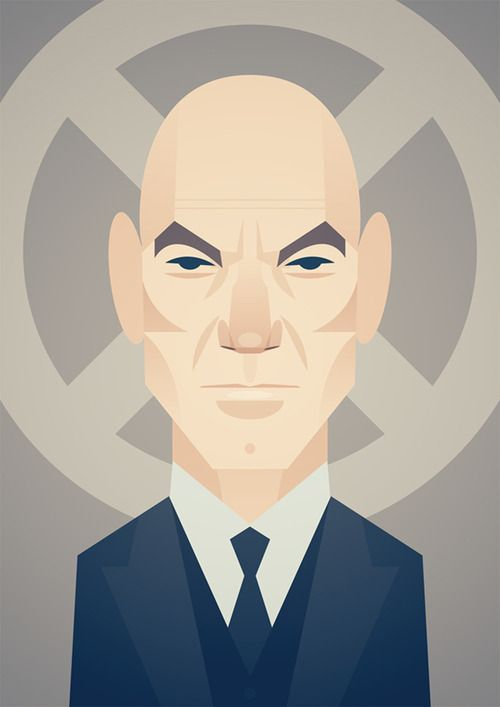 Professor X by Stanley Chow