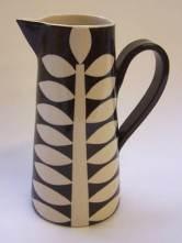ken eardley ceramic pitcher