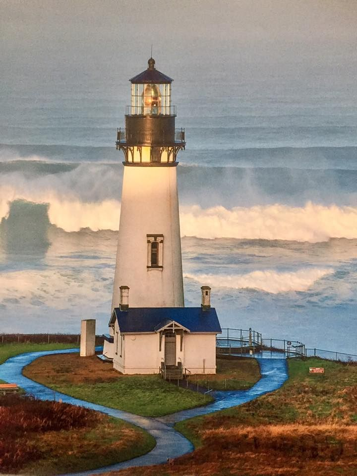 #Lighthouse - Yaquina Bay, Newport, #Oregon - http://dennisharper.lnf.com/
