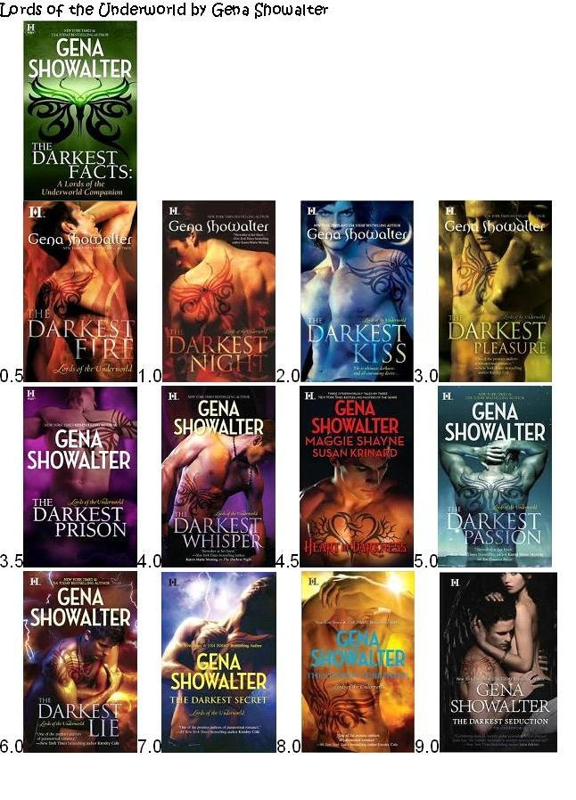 Lords of the Underworld by Gena Showalter