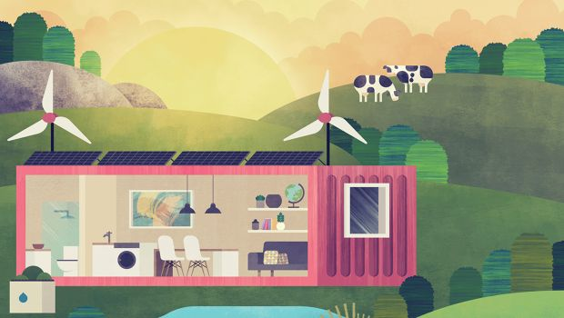 Meet the startup converting used shipping containers into off the shelf, off the grid dwellings.