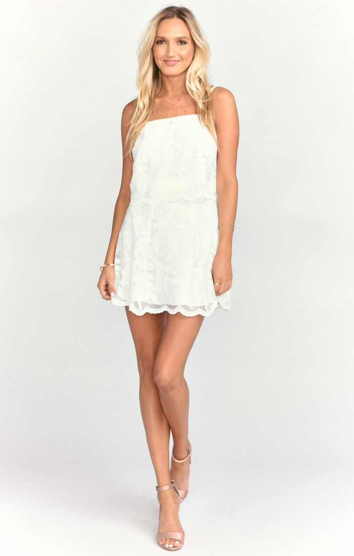 be0f47b44da8e6 Kiss Crop Top ~ White Everlasting Lace