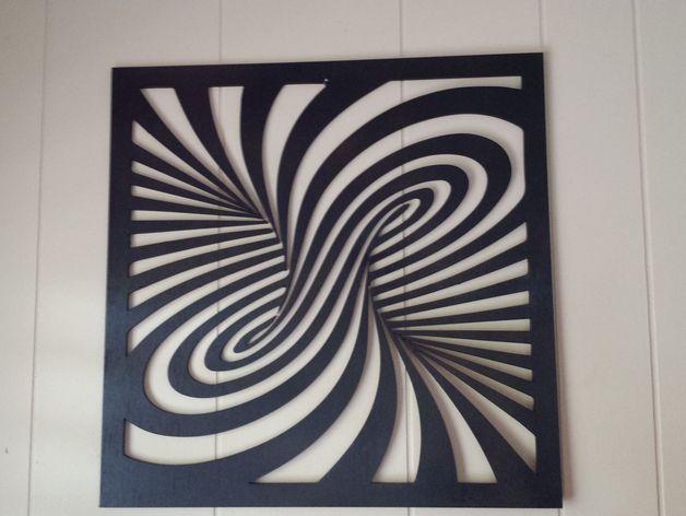 Laser Cut Twirl More