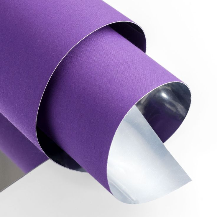 Purple & silver lampshade material. Gales Silver 14JVPD409 is like a violet blooming.