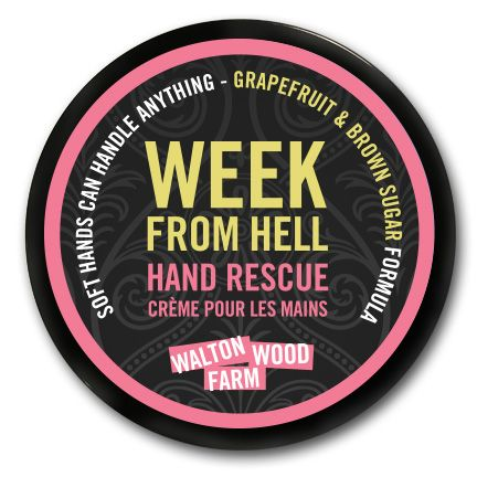 $18. Having the week from hell? Soft hands can handle anything. #WomenSmellPretty #WaltonWoodFarm #HandRescue #UniqueGifts #StudentProblems