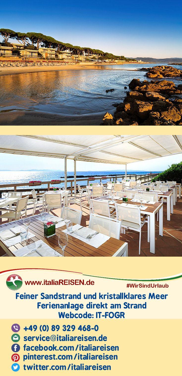 #Ferienanlage liegt in einer schönen Gegendvor #Follonicadirekt am Meeram eigenen, ca. 800 m langen, feinsandigen #Strand.  #instatravel #travelgram #instagood #beautifultuscany #lovetuscany #Toskana #vacation #instago #Reisen #tourism #WirSindUrlaub #italiaREISEN