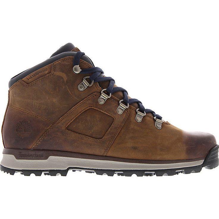 NEU Timberland Earthkeepers Scramble Mid Leather Herrenschuhe Sneaker Braun