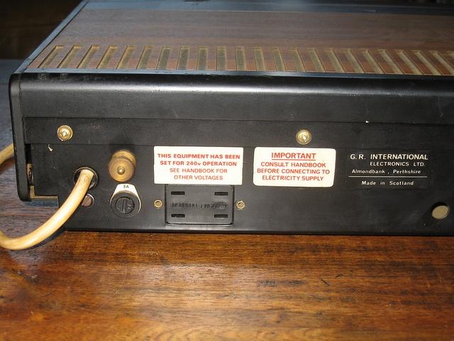G.R. International McLaren Vintage Amplifier by Massivemidget, via Flickr