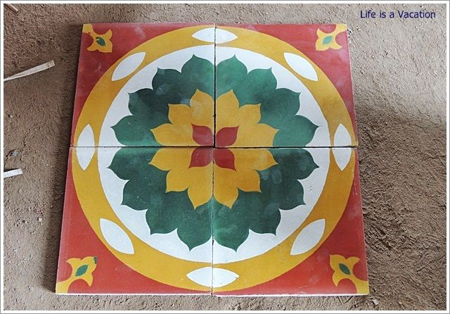 Floor Legacy ~ Athangudi Tiles from Chettinad