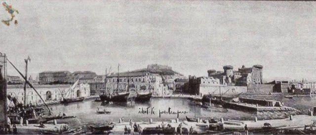 Napoli, veduta della Darsena