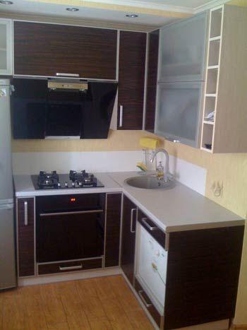 Кухни для малогабаритных кухонь