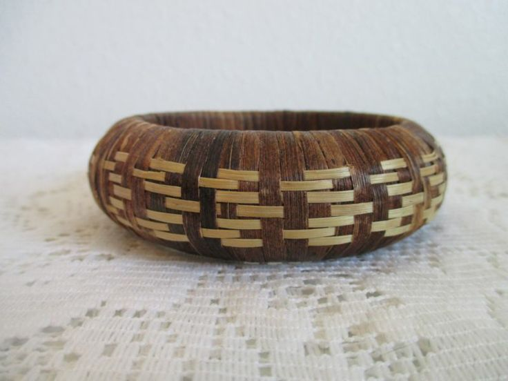 Native American Basket Weaving Instructions : Images about basket rims and handles on