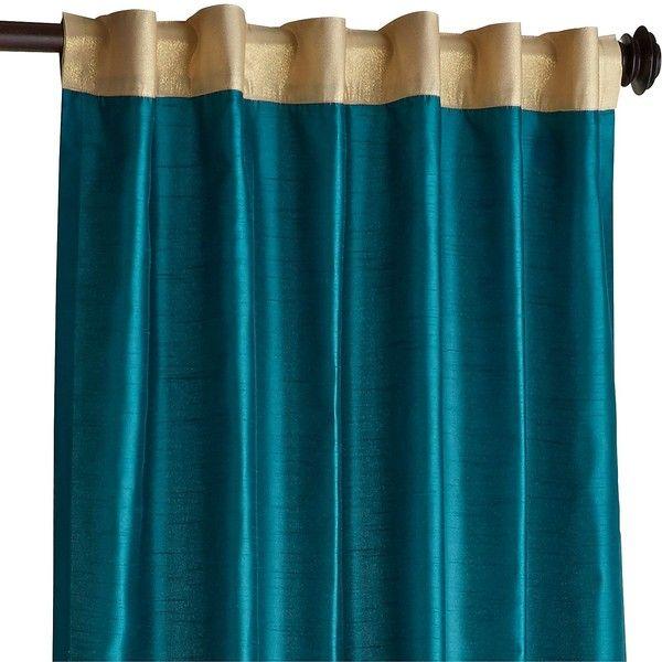 Pier 1 Imports Hamilton Gilded 108 Curtain 50 Liked On