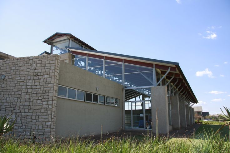 The heated, indoor swimming pool at Midlands Estate, Midstream Estates