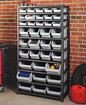 Want this bin rack!!!!