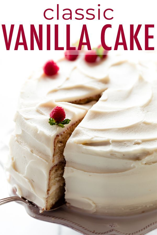 With Its Outstanding Vanilla Flavor Pillowy Soft Crumb And Creamy Vanilla Buttercream This Is Truly The Best Vanilla Cak Indian Cake Dessert Recipes Recipes
