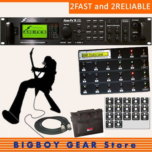 New Bundle Fractal Audio Systems Axe-Fx II XL and MFC-101 Mark III FREE Stealth #FractalAudio