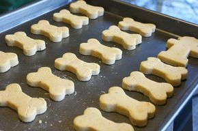 Lola's Homemade Pumpkin Dog Biscuits. My dog is diabetic and they can get sick from sugar, sick enough to go to the vet.