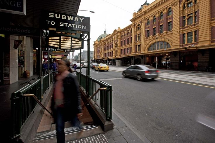 Degraves street subway entrance