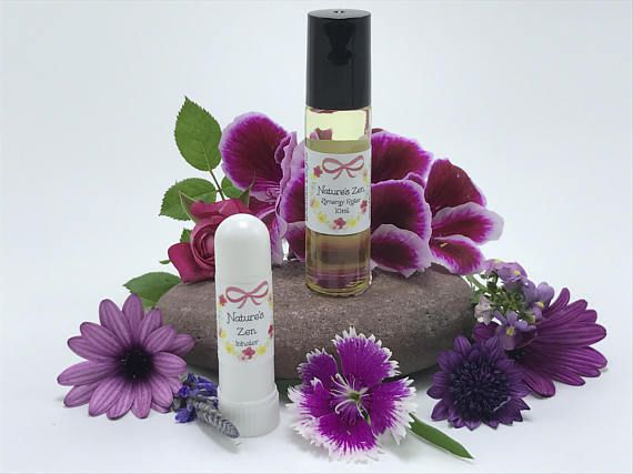 Nature's Zen Synergy Blend - Stress Relief, Mood Lifting Oil, Yoga Gifts, Spiritual Blends, Namaste, Hippie Gift, Boho Gift, Feel Good Oil
