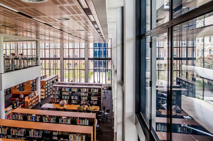 Wide open spaces - Newington College Library