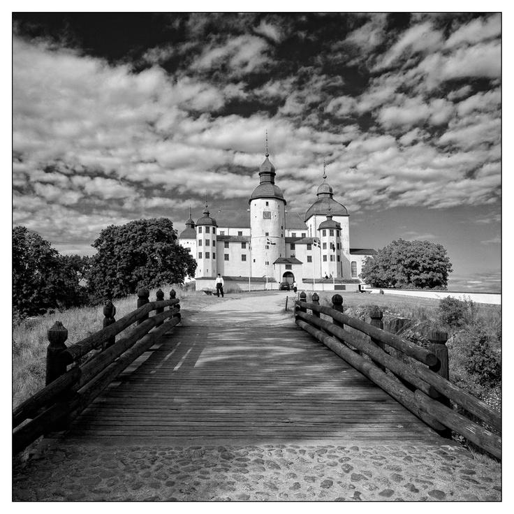 Läckö Slott.  A wonderful medieval castle,located on the island Kållandsö on the shore of Lake Vänern in Västragötland Sweden