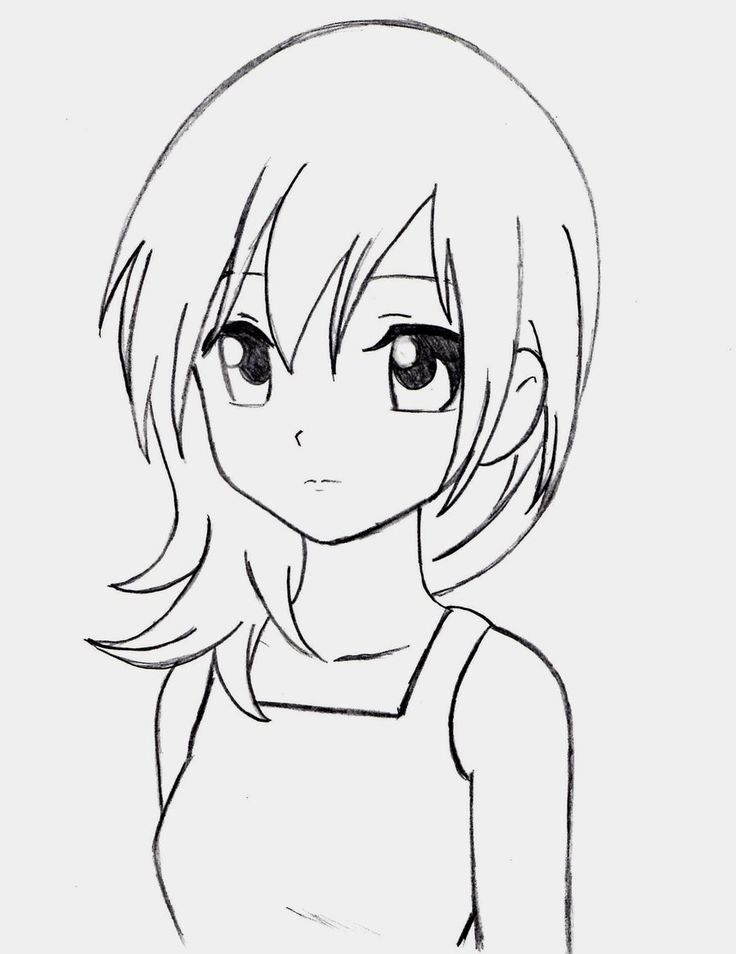 Easy Anime Coloring Pages Best Of Pin On Download In 2020 Cartoon Drawings Cartoon Girl Drawing Anime Sketch