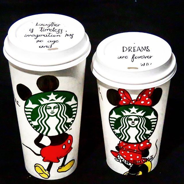 #drawing #laughteristimeless #imaginationhasnoage #dreamsareforever #sketching  #artline #line #starbuckscup #capuccino #coffee #starbucks #coffeeart #coffeelover #coffeetime #coffeecup #shadow #lights #art #mickeymouse #minniemouse #disney #red #morning // #nuovo #disegno #ilcaffe #due #tazza #lamatina