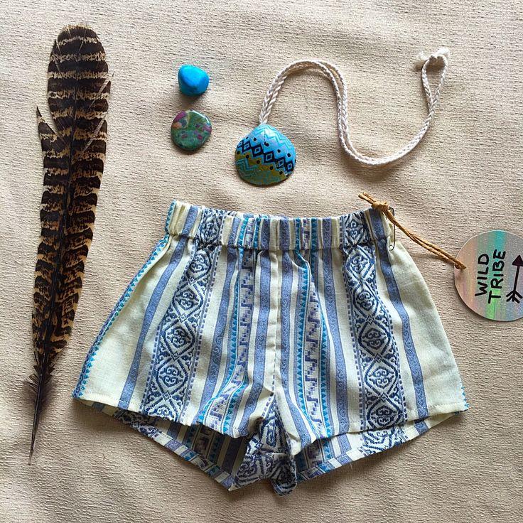 Paradise Shorts by wildtribe on Etsy https://www.etsy.com/au/listing/266929787/paradise-shorts