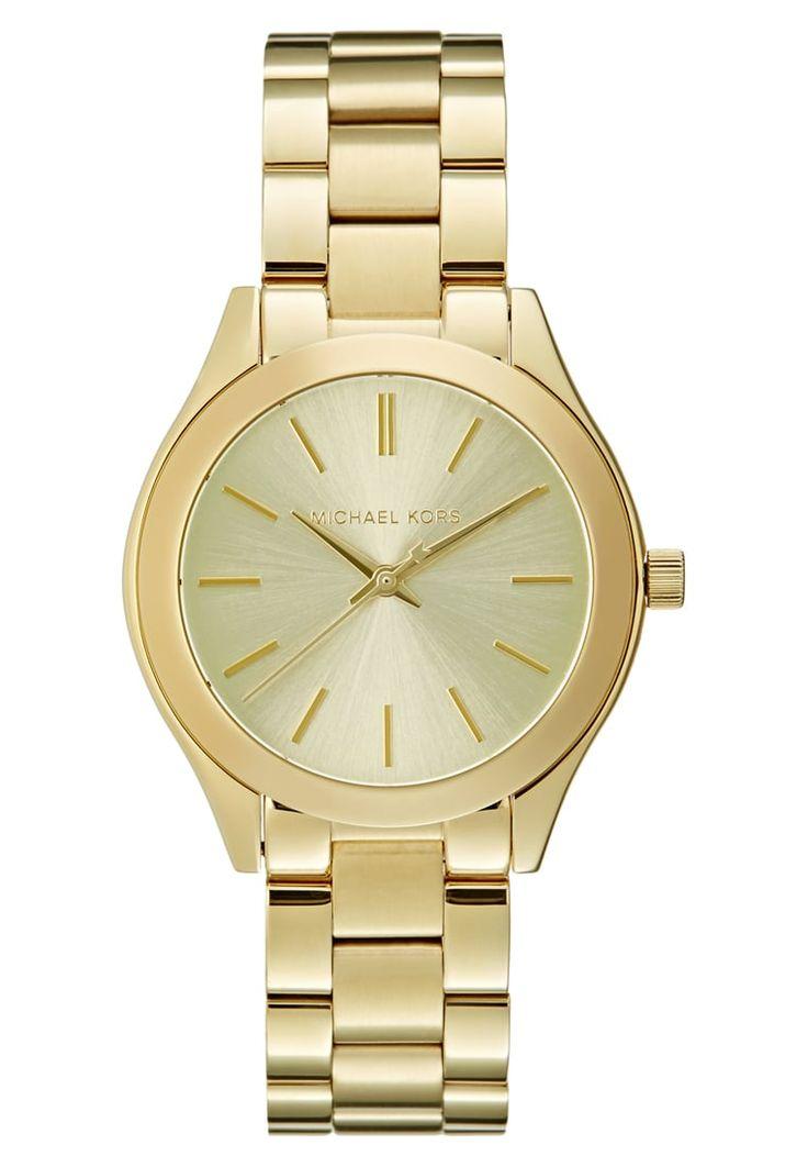 Diese Uhr wird dein Herz höher schlagen lassen. Michael Kors RUNWAY - Uhr - gold-coloured für SFr. 220.00 (11.11.16) versandkostenfrei bei Zalando.ch bestellen.