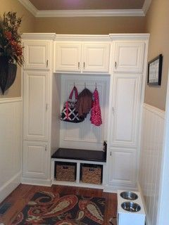 Mud Room Storage - contemporary - entry - atlanta - by Level Team Contracting